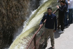 "<div><font size=""1"">Sandeep nad Dolním vodopádem.</font></div>