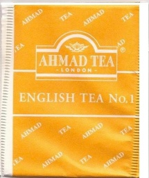 Ahmad - English Tea No1 (yellow)