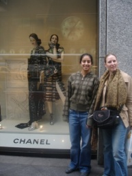 Obchod Chanel.<br />__________<br />Chanel store.