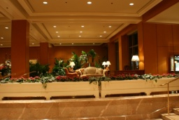 Vstupní hala ve Four Seasons.<br />_________<br />Four Seasons lobby.