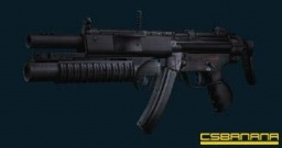 MP5 With Grenade Launcher - obrázek