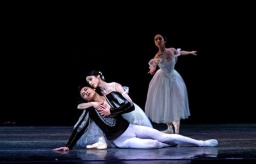 Crystal Costa as Giselle and Han Po as Albrecht in HKB's Giselle.jpg