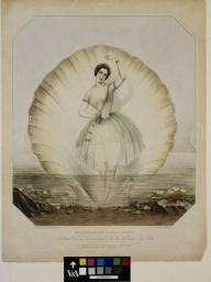 Mademoiselle Fanny Cerito  in the Grand Ballet of Ondine