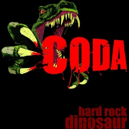 "CD Coda ""hard rock dinosaur"" 2010"