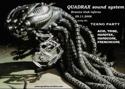 Quadrax Souns System party