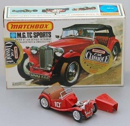 MG TC - Matchbox