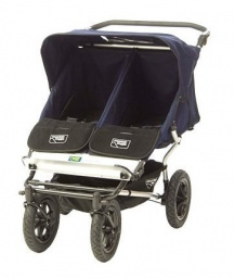 Urban Double Elite Stroller in Navy