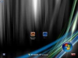 windows vista black for XP - obrázek