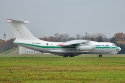7T-WIU IL-76TD  Algerian Air Force