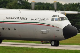 KAF323  Lockheed L100-30 Hercules  KUWAIT AIR FORCE