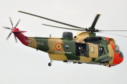 RS02  Sea King Mk48  Belgian Air Force