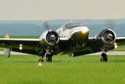 N9550Z  Beech C-45H Expeditor  Private