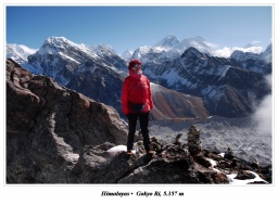 Summit of the Gokyo Ri and me