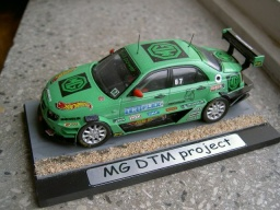 MG projekt DTM - upravený model Vanguard