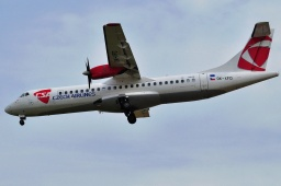 OK-XFD  ATR72-202 Czech Airlines
