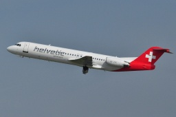 HB-JVE Helvetic Airways Fokker 100