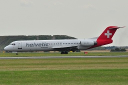 HB-JVC F100  Helvetic Airways