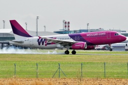 HA-LPL  A320-232 Wizz Air