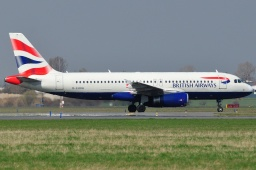 G-EUUH A320-232 British Airways