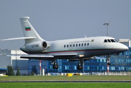 LZ-001 Falcon 2000 Bulgaria Air Force
