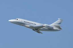 N310U FALCON 2000EX private