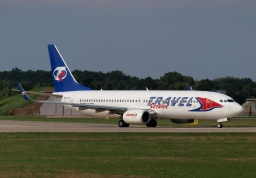 Boeing 737-8FH OK-TVF (Travel Service)