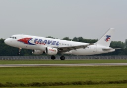 Airbus A320-211 YL-LCD (Travel Service)