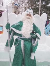 I´m with Ded Moroz in this picture.
