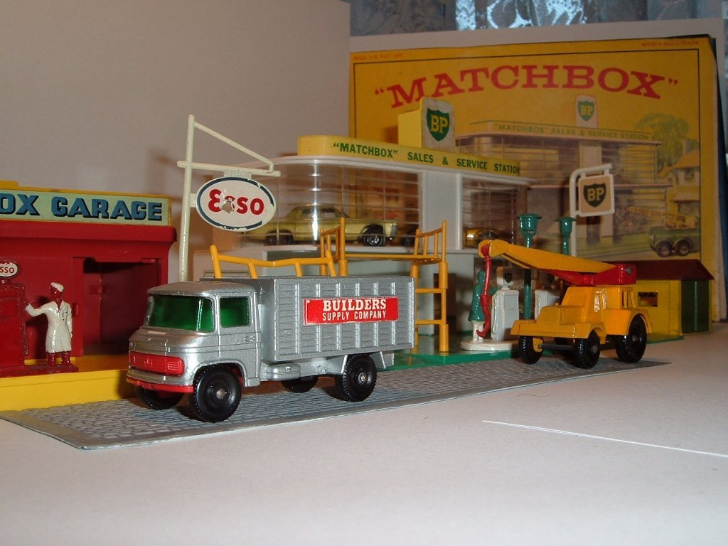 No 11 d, c, Scaffold Truck, Jubo Crane, 1969, 1965