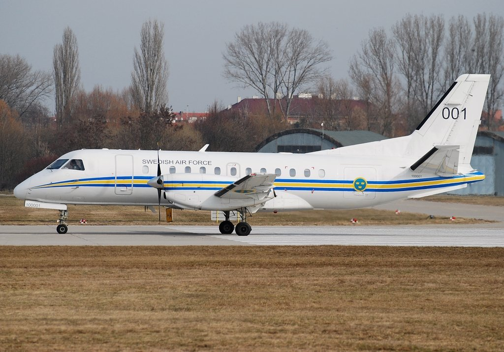 SAAB-340 Sweden Air Force