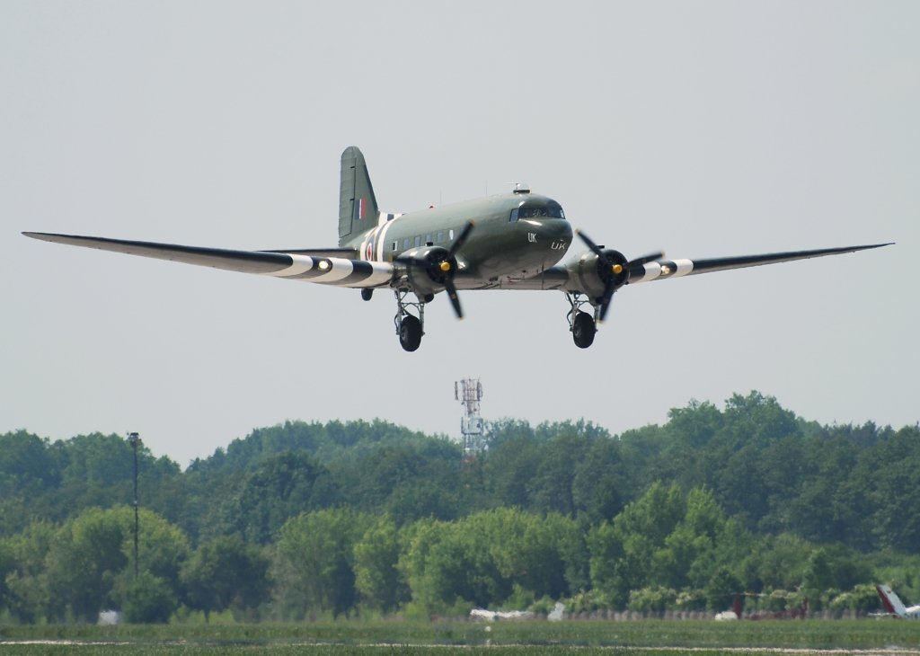 C-47ABATTLE OF BRITAIN MEMORIAL FLIGHT
