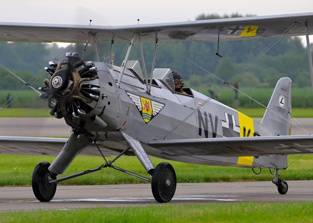Focke-Wulf FW-44J Private D-ENAY