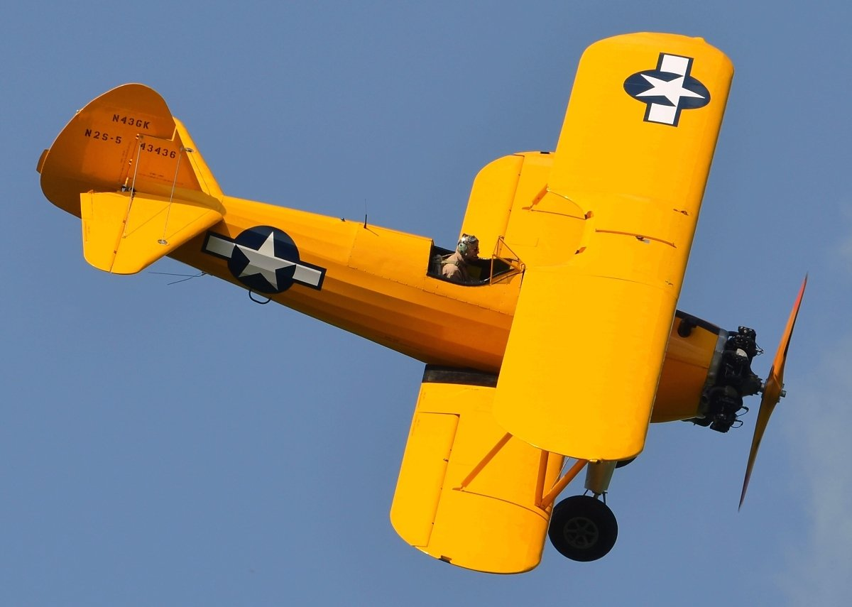 Boeing A-75N1 Stearman  Private  N43GK