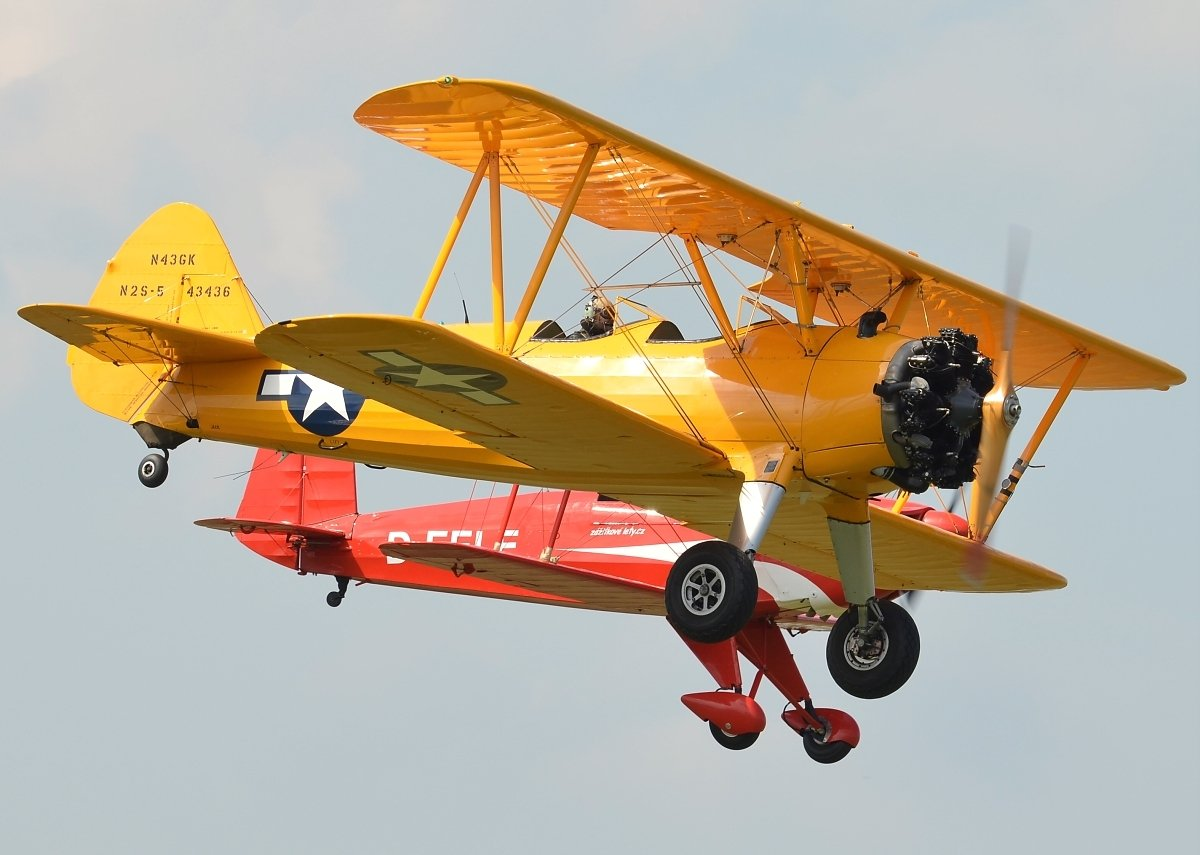 Boeing A-75N1 Stearman N43GK (Private)