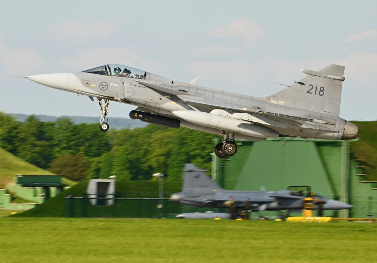 Saab 39C Gripen   Swedish Air Force     39218