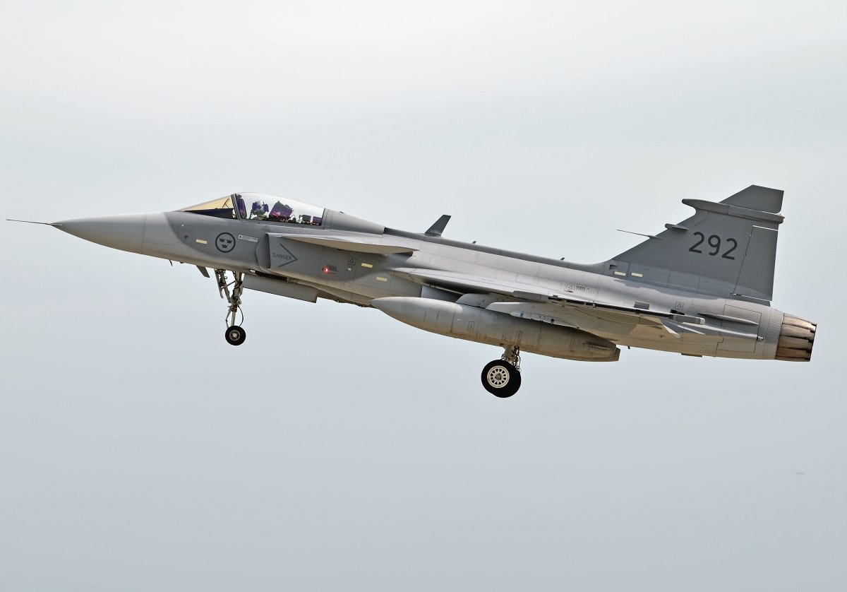 Saab 39C Gripen   Swedish Air Force     39292