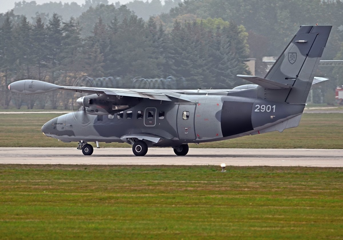 L410UVP-E20   Slovak Air Force  2901