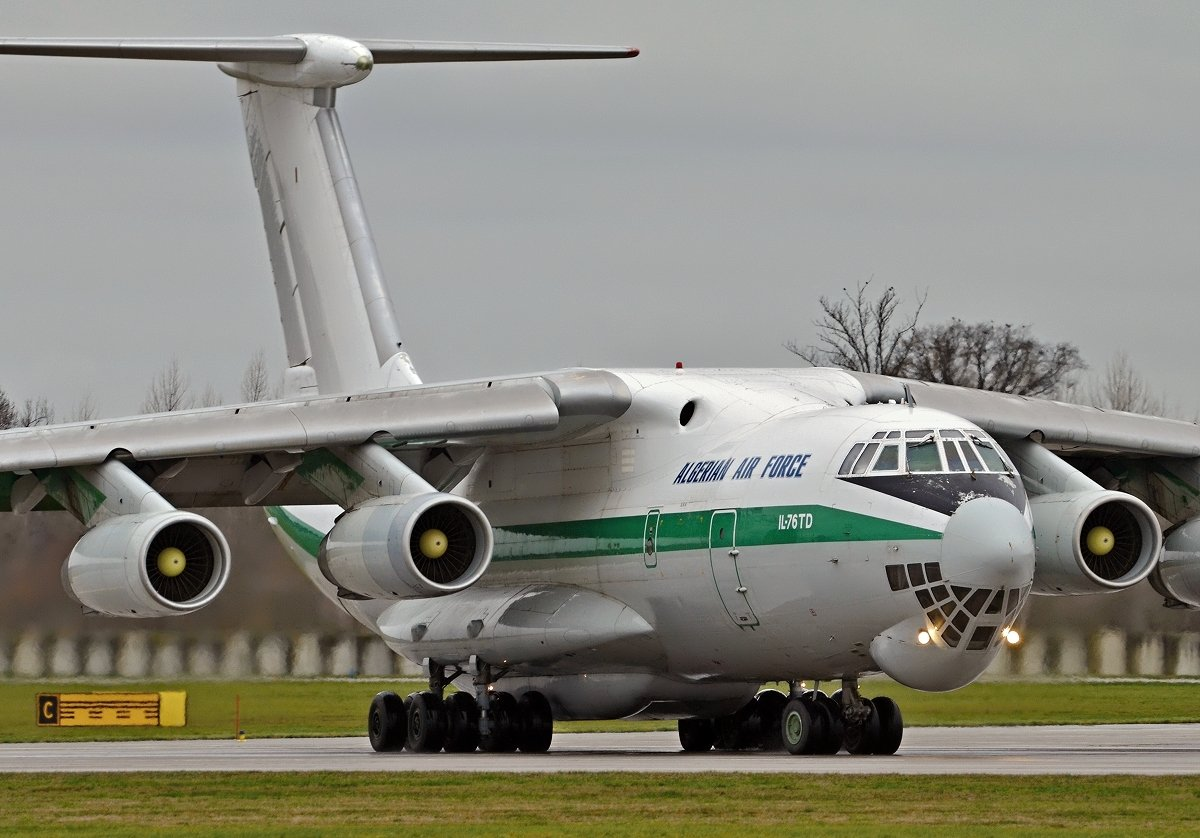 IL76TD Algerian Air Force  7T-WIE
