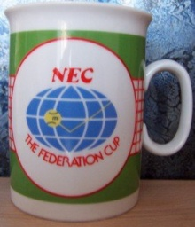 NEC The federal cup Praha 1986