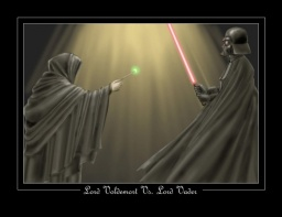 Lord Voldemort vs. Lord Vader