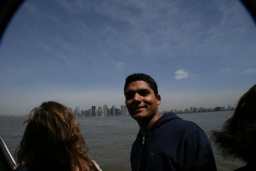 Sandeep a Manhattan.<br />________<br />Sandeep and Manhattan.