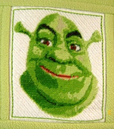 Shrek detail