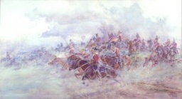 6th Inniskilling dragoons at Waterloo-E.Butler.jpg