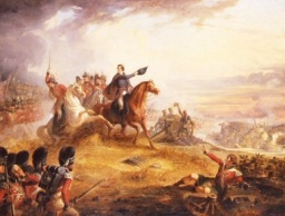 Wellington attack of Waterloo-T.J.Barker.jpg