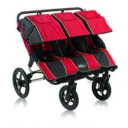 Baby Jogger Summit 360 Triple - Red Black Standard Stroller