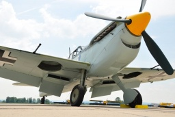 G-BWUE  Hispano HA-1112-M1L Buchon  Private