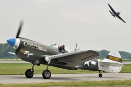 F-AZKU  Curtiss P-40N Kittyhawk