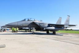 96-0205  F-15E Strike Eagle USAF