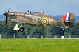 G-HUPW  Hawker Hurricane Mk1 private