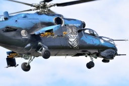 MI-24  Ccech air force